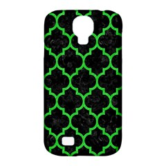 Tile1 Black Marble & Green Colored Pencil Samsung Galaxy S4 Classic Hardshell Case (pc+silicone)