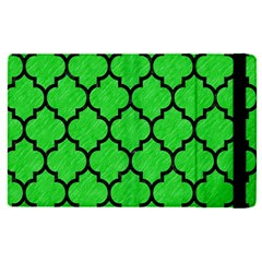 Tile1 Black Marble & Green Colored Pencil (r) Apple Ipad Pro 12 9   Flip Case by trendistuff