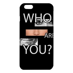 Who Are You Iphone 6 Plus/6s Plus Tpu Case