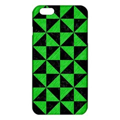 Triangle1 Black Marble & Green Colored Pencil Iphone 6 Plus/6s Plus Tpu Case