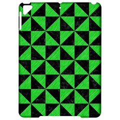 Triangle1 Black Marble & Green Colored Pencil Apple Ipad Pro 9 7   Hardshell Case by trendistuff