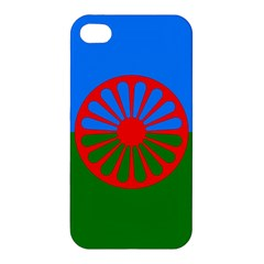 Gypsy Flag Apple Iphone 4/4s Premium Hardshell Case by Valentinaart