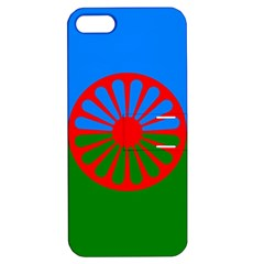 Gypsy Flag Apple Iphone 5 Hardshell Case With Stand by Valentinaart