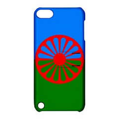 Gypsy Flag Apple Ipod Touch 5 Hardshell Case With Stand by Valentinaart