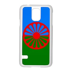 Gypsy Flag Samsung Galaxy S5 Case (white) by Valentinaart