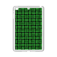 Woven1 Black Marble & Green Colored Pencil Ipad Mini 2 Enamel Coated Cases by trendistuff