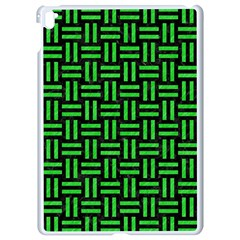 Woven1 Black Marble & Green Colored Pencil Apple Ipad Pro 9 7   White Seamless Case by trendistuff