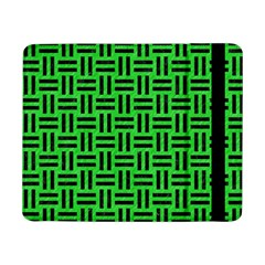 Woven1 Black Marble & Green Colored Pencil (r) Samsung Galaxy Tab Pro 8 4  Flip Case by trendistuff