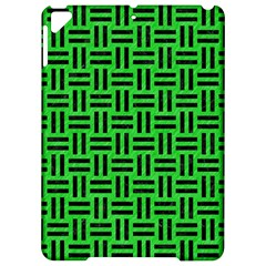 Woven1 Black Marble & Green Colored Pencil (r) Apple Ipad Pro 9 7   Hardshell Case by trendistuff