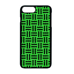 Woven1 Black Marble & Green Colored Pencil (r) Apple Iphone 7 Plus Seamless Case (black)