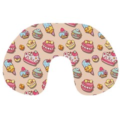 Sweet Pattern Travel Neck Pillows
