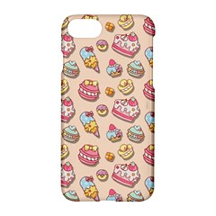 Sweet Pattern Apple Iphone 7 Hardshell Case by Valentinaart