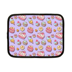 Sweet Pattern Netbook Case (small)  by Valentinaart