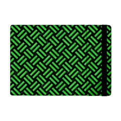 Woven2 Black Marble & Green Colored Pencil Ipad Mini 2 Flip Cases by trendistuff