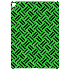 Woven2 Black Marble & Green Colored Pencil (r) Apple Ipad Pro 12 9   Hardshell Case by trendistuff
