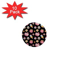 Sweet Pattern 1  Mini Magnet (10 Pack)