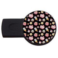 Sweet Pattern Usb Flash Drive Round (2 Gb) by Valentinaart