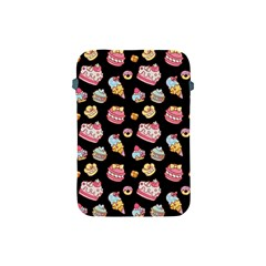 Sweet Pattern Apple Ipad Mini Protective Soft Cases by Valentinaart