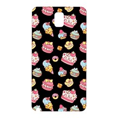 Sweet Pattern Samsung Galaxy Note 3 N9005 Hardshell Back Case by Valentinaart