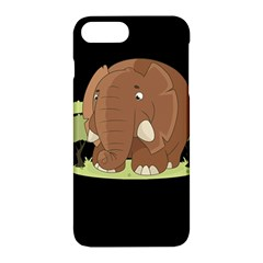 Cute Elephant Apple Iphone 7 Plus Hardshell Case by Valentinaart