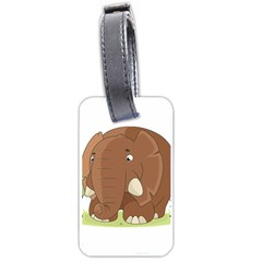 Cute Elephant Luggage Tags (one Side)