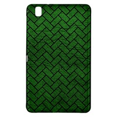 Brick2 Black Marble & Green Leather (r) Samsung Galaxy Tab Pro 8 4 Hardshell Case by trendistuff