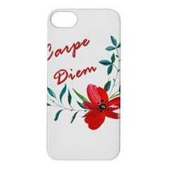 Carpe Diem  Apple Iphone 5s/ Se Hardshell Case