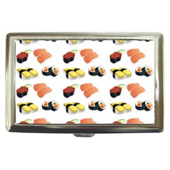 Sushi Pattern Cigarette Money Cases by Valentinaart