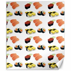 Sushi Pattern Canvas 20  X 24   by Valentinaart