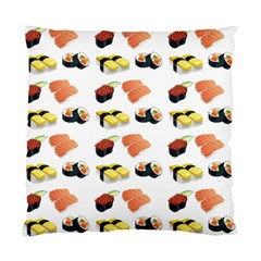 Sushi Pattern Standard Cushion Case (two Sides) by Valentinaart