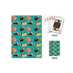Sushi Pattern Playing Cards (mini)