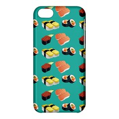 Sushi Pattern Apple Iphone 5c Hardshell Case by Valentinaart
