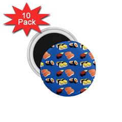 Sushi Pattern 1 75  Magnets (10 Pack)