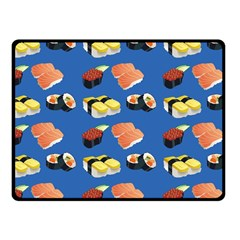 Sushi Pattern Fleece Blanket (small)