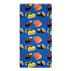 Sushi Pattern Shower Curtain 36  X 72  (stall)  by Valentinaart