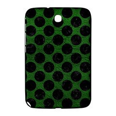 Circles2 Black Marble & Green Leather (r) Samsung Galaxy Note 8 0 N5100 Hardshell Case  by trendistuff
