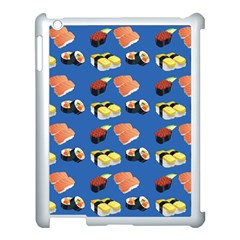 Sushi Pattern Apple Ipad 3/4 Case (white) by Valentinaart