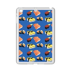 Sushi Pattern Ipad Mini 2 Enamel Coated Cases by Valentinaart