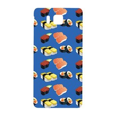 Sushi Pattern Samsung Galaxy Alpha Hardshell Back Case by Valentinaart