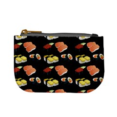 Sushi Pattern Mini Coin Purses by Valentinaart