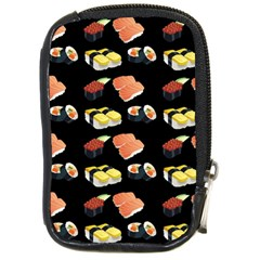 Sushi Pattern Compact Camera Cases by Valentinaart