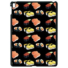 Sushi Pattern Apple Ipad Pro 9 7   Black Seamless Case by Valentinaart