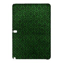 Hexagon1 Black Marble & Green Leather (r) Samsung Galaxy Tab Pro 10 1 Hardshell Case by trendistuff