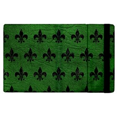 Royal1 Black Marble & Green Leather Apple Ipad 3/4 Flip Case by trendistuff