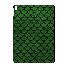 Scales1 Black Marble & Green Leather (r) Apple Ipad Pro 10 5   Hardshell Case by trendistuff