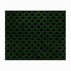 Scales2 Black Marble & Green Leatherscales2 Black Marble & Green Leather Small Glasses Cloth