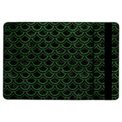 Scales2 Black Marble & Green Leatherscales2 Black Marble & Green Leather Ipad Air 2 Flip by trendistuff