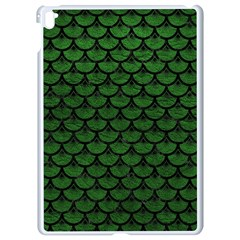Scales3 Black Marble & Green Leather (r) Apple Ipad Pro 9 7   White Seamless Case by trendistuff