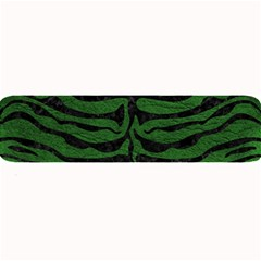 Skin2 Black Marble & Green Leather (r) Large Bar Mats by trendistuff