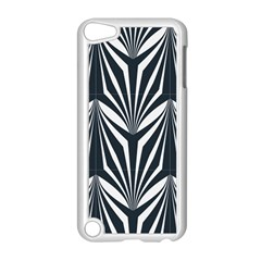 Art Deco, Black,white,graphic Design,vintage,elegant,chic Apple Ipod Touch 5 Case (white) by 8fugoso